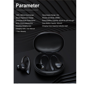 Image 3 - T7 Pro TWS Earphone Wireless bluetooth 5.0 Earhooks Silicone Soft Hifi Stereo Sports In Ear Headset with Charging Box