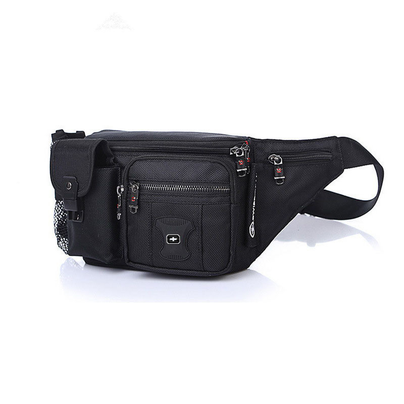 New Style Multi-functional Men's Outdoor Sport Waist Bag Large Capacity Cash Storage Bag Riding Wallet