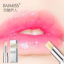 BAIMISS жидкий яркий бальзам для губ очень питательный увлажняющий детская помада бальзам для губ антивозрастной Макияж Уход за губами красота