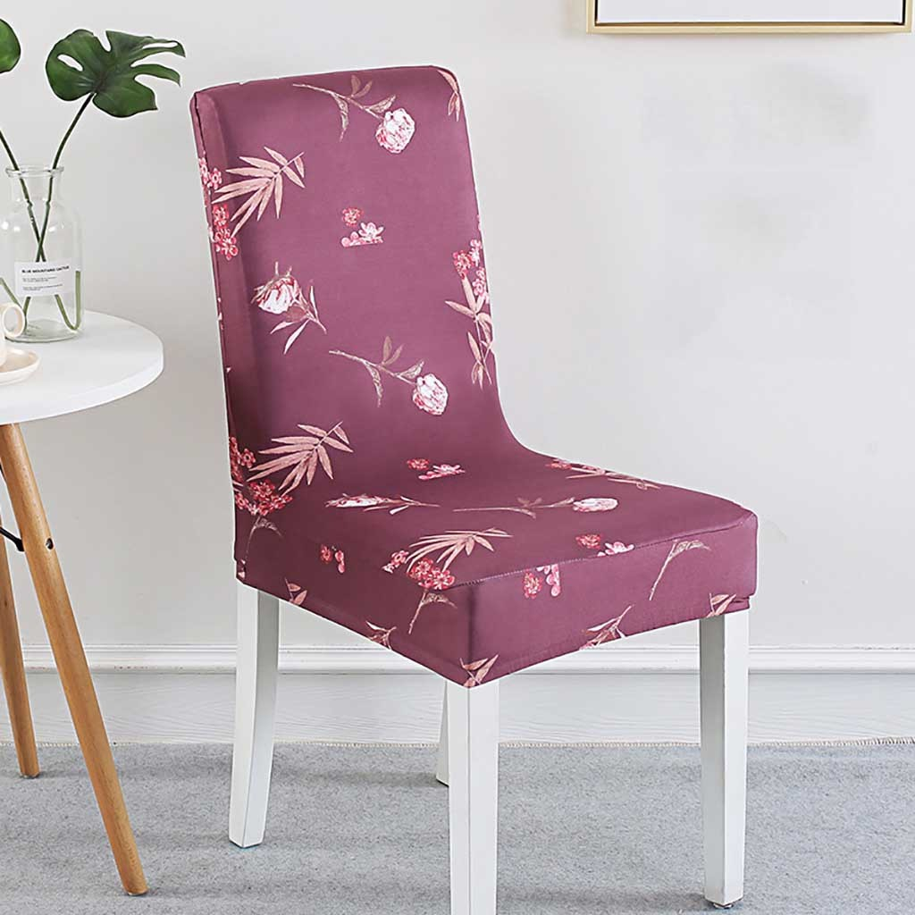 Sandalye kılıfı noel yemek odası düğün ziyafet sandalye kılıfı parti dekor koltuk Spandex streç kapakları T3