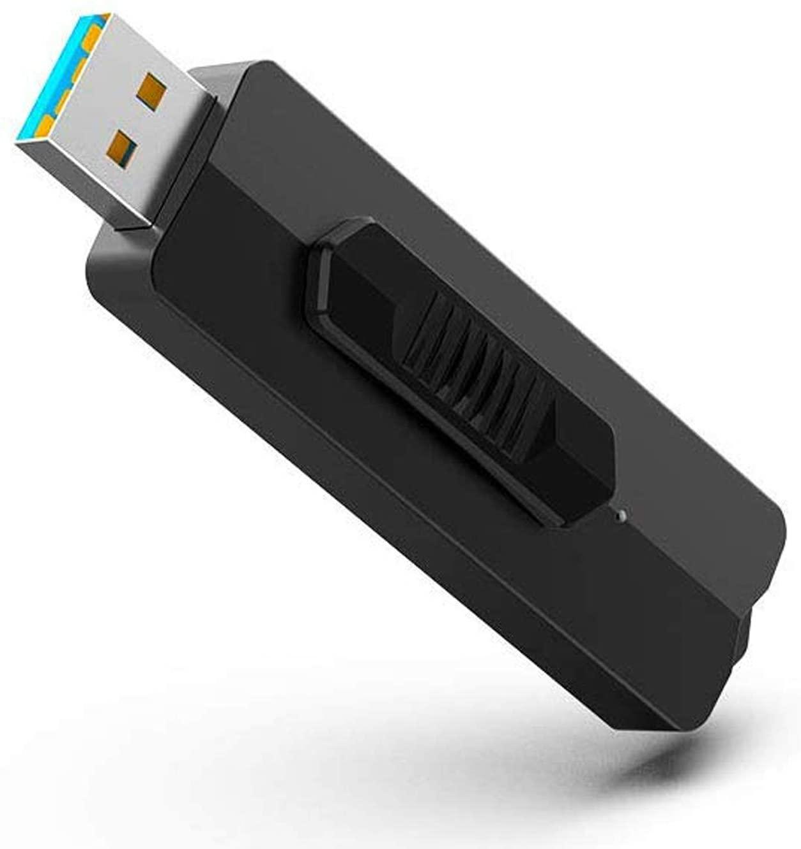 TOPESEL 128 ГБ флэш-накопитель 128 ГБ USB 3,1 со скоростью чтения до 370 МБ/с., USB 3,1 Gen 1-Черный, серый цвет