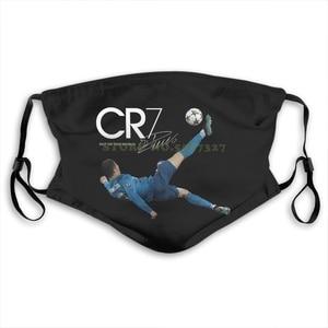 Маска для лица Cr7 Bicycle Kick Goal Cristiano Ronaldo, размер для взрослых, крутая Повседневная гордыня, унисекс, Новый светильник, летняя печать, маски для р...