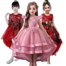 Top Qualily Girl's Dress Princess Dress For Flower Very beautiful princess Dress Trumpet piano Costume Children's Dress 3-12YRS - DISCOUNT ITEM  34% OFF All Category