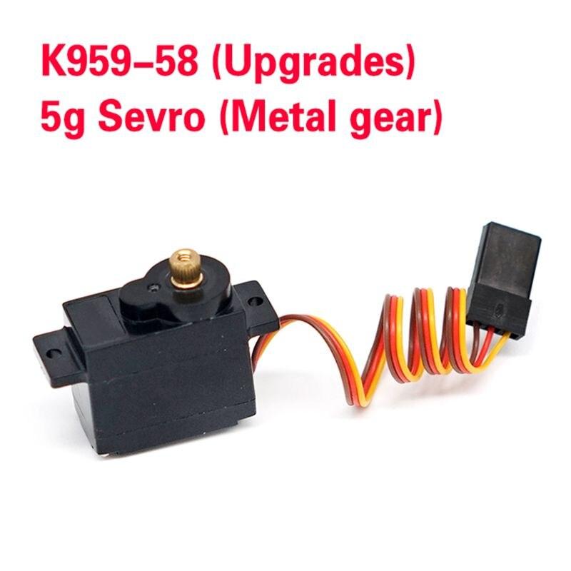 RC 5g Servo Hochleistung für 1//28 Wltoys K989 58 Rc Crawler