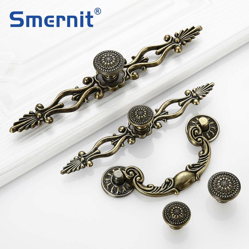 Vintage Door Handles Antique Knobs And Handles For Kitchen Cabinets Cupboard Handles Closet Handle Furniture Hardware
