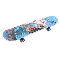 Skateboard Pulley Wheel Double Snubby Wood Skateboard Roller Board Flashing Roller Four Wheel Skate Board Kid Scooter Longboard