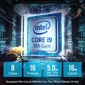 Image 2 - XCY Mini PC Computer Intel Core i7 9850H i9 9880H Processor DDR4 RAM Win 10 Linux Gaming 4K UHD HTPC DP Minipc Desktop Komputer