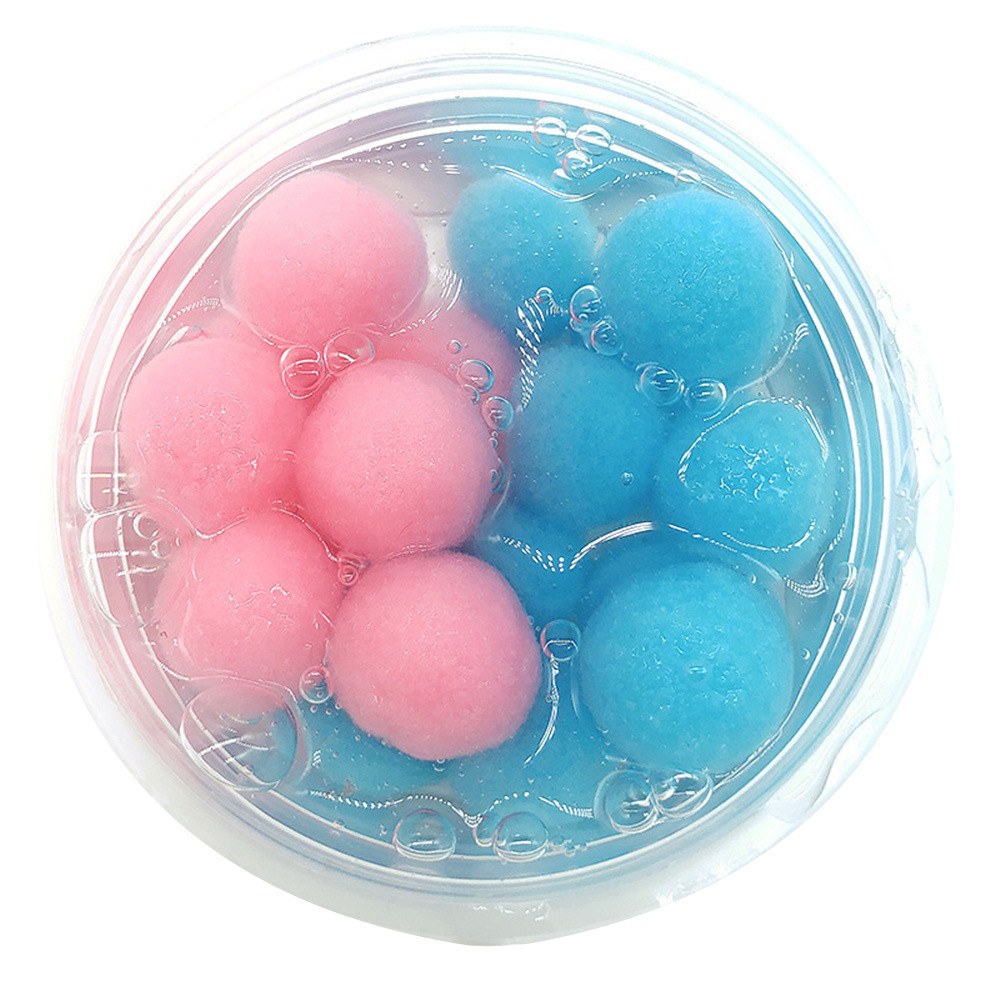 Mixing Coconut Fruit Cloud Slime Soft Stretchy Scented Stress Relief Crystal Clay Toy Simulation Food Toy Kids Gifts #A