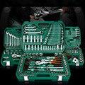 Nuovo Generale AUTO di Famiglia AUTO Tool Kit di Riparazione con Plastica Cassetta Degli Attrezzi di Caso di Immagazzinaggio Presa Chiave A Cricchetto Cacciavite Set di Utensili A Mano