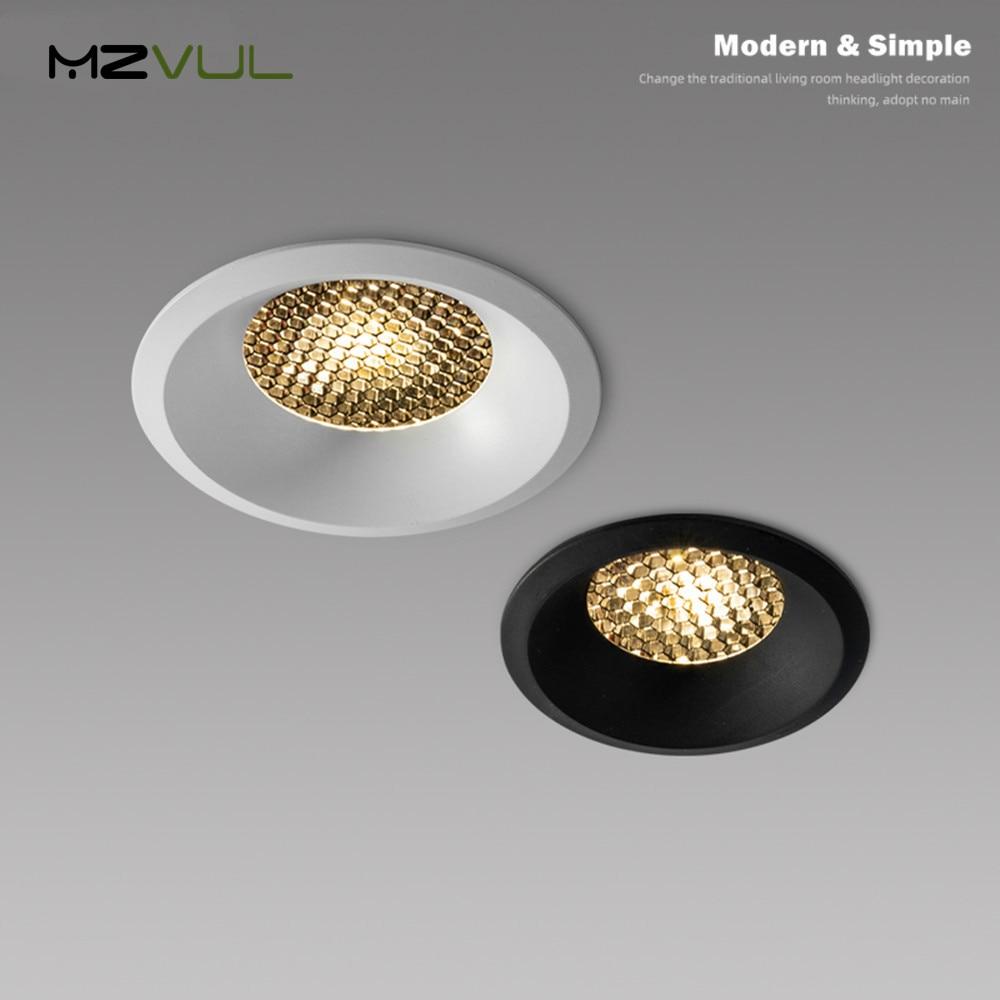 Светодиодный светильник, антибликовый светодиодный встраиваемый потолочный светильник, алюминиевый сотовой светильник для помещения, светодиодная лампа для гостиной, спальни, потолочный светильник Полочные светильники      АлиЭкспресс