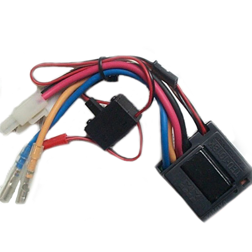 Plastic Brushed ESC TEU-101BK For 1/14 Tamiya RC Car Repair Parts