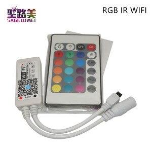 Image 4 - קסם בית DC5V 12V 24V Bluetooth אלחוטי WiFi בקר, RGB/RGBW IR RF LED בקר עבור 5050 WS2811 WS2812B פיקסל led רצועת