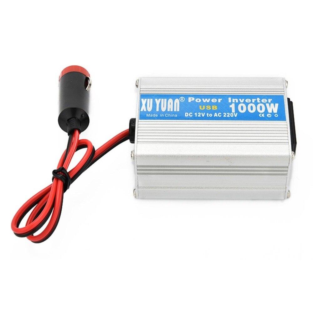 200W DC 12V à AC 220V voiture Auto onduleur convertisseur USB chargeur adaptateur voiture Auto onduleur convertisseur USB chargeur