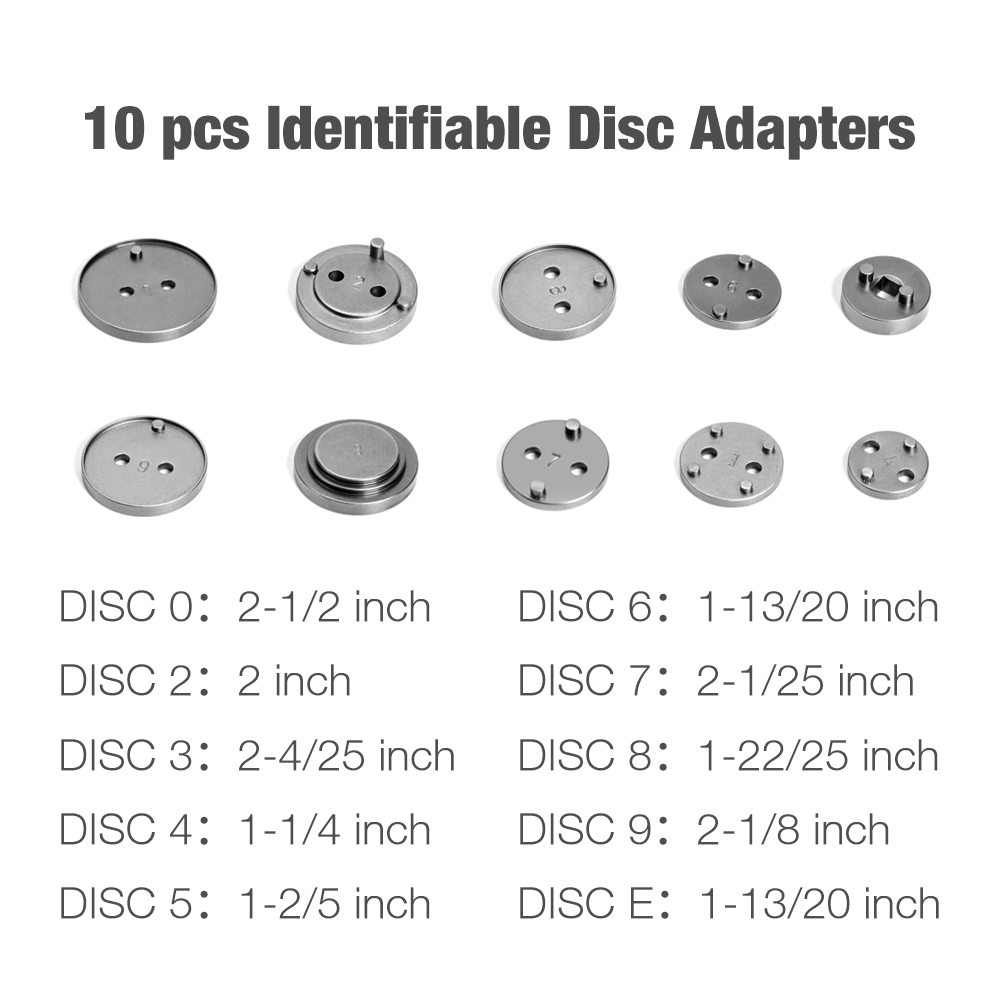 10 pcs Identifiable Adapters