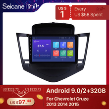 Seicane 9 Inch Android 9.0 Multimedia Player For 2013 2014 2015 Chevrolet Cruze GPS Navi 2din Car Radio Touchscreen Head Unit