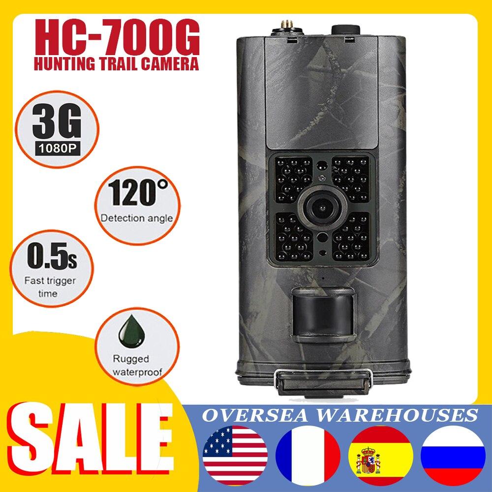 HC700G Сотовая связь Охота Камера 1080P MMS/SMS/SMTP/FTP 20MP 3G Trail Камера IP65 0.5s ловушек Скаут дикая инфракрасный светодиодный Термальность изображения