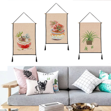 Meaty pattern tapestry hanging print decorative paintings household textile custom polyester 45cm*65cm