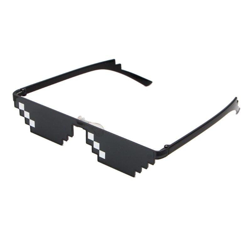 Cool 3 Bit MLG Pixelated Sunglasses Deal With It Glasses  Pixel Sunglasses