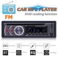SWM 8169A 1 Din Car Radio Bluetooth Stereo Auto Audio CD VCD DVD MP3 Player AUX USB TF Card FM Radio Head Unit Multimedia Player