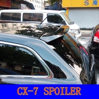 Car Accessories For Mazda CX-7 CX7 Spoiler 2008-2014 Auto ABS Plastic Unpainted Primer Rear Trunk Boot Wing Lip Spoiler