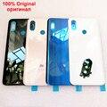 100% Оригинальный стеклянный батарейный отсек задняя крышка корпуса для XIAOMI MI 8 mi8 задняя крышка батарейного отсека Замена жесткая + клейкая н...