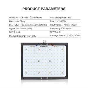 Image 3 - Lượng Tử Đèn LED Phát Triển Đèn Ban Suốt Samsung Lm301b 140W 300W Vật Có Hoa Lớn Đèn Trong Nhà Thực Vật Với meanwell Lái Xe