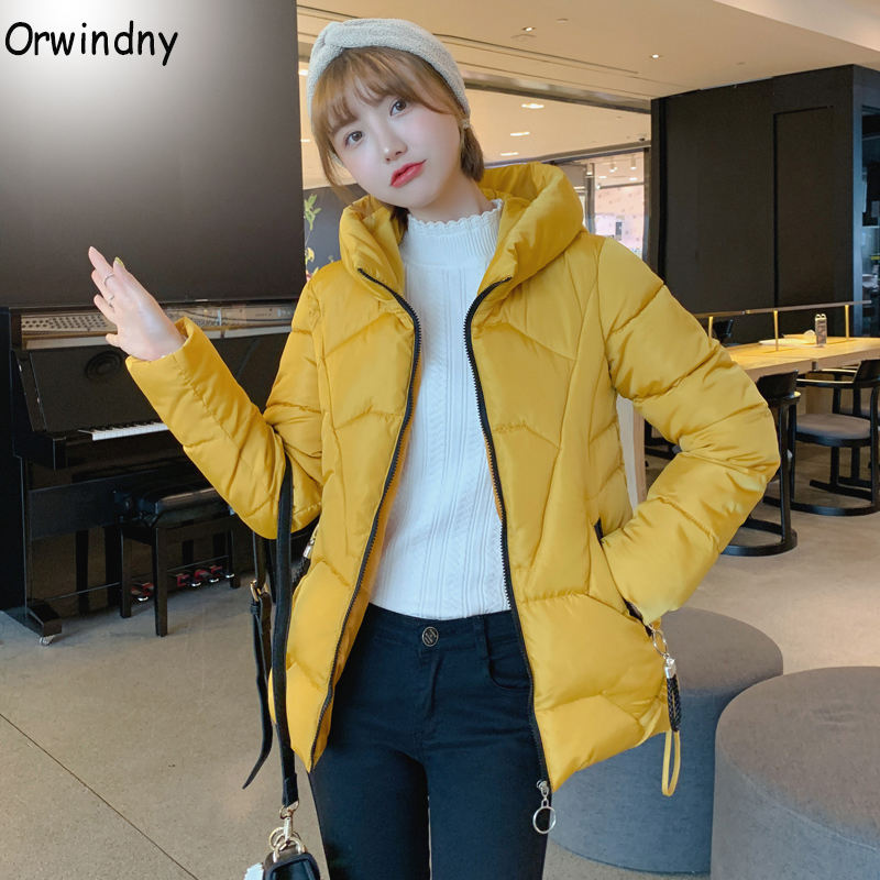 Orwindny Plus Size S-4XL 5XL 6XL Female Jacket Thick Warm Womens   Parka   Coats Hooded Cotton Padded Jackets Down Cotton Jacket