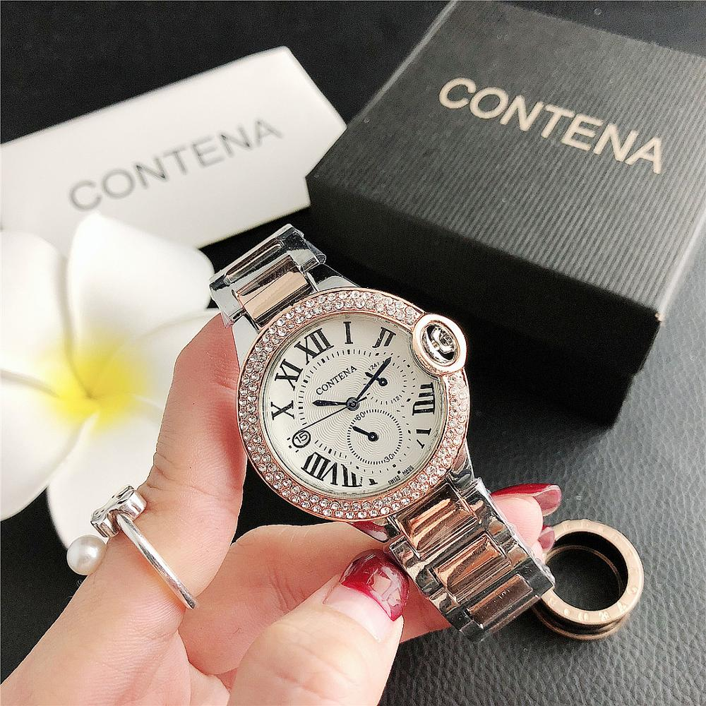 6930BS    Contena  small dial watch women's fine fashion ladies watch