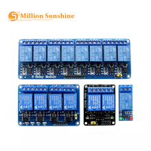 5V 1 2 4 6 8 Channel Relay Module with Optocoupler Relay Output 1 2 4 6 8 Way Relay Module for arduino