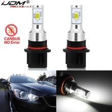 IJDM HID Weiß Kein Fehler Canbus P13W SH24W Led-lampen für Mazda CX5 CX-5 2013 2014 2015 LED Driving DRL tagfahrlicht Lampe