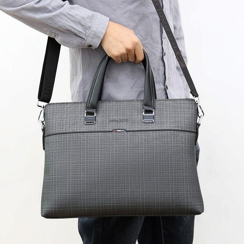 Men's Briefcase Office Bags For Men Handbag Business Leather Messenger Mens Bag Male Shoulder Bandolera Bolso Sac Homme 2020 New
