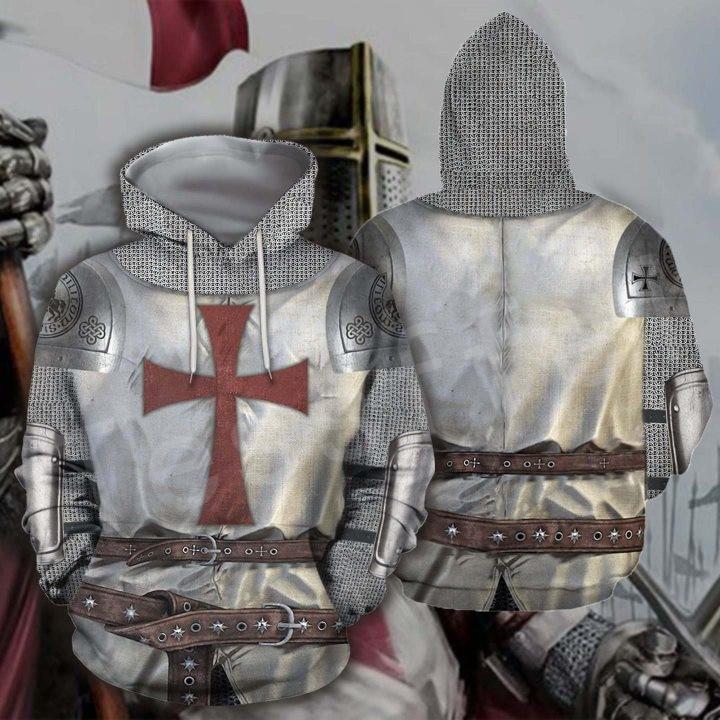 Tessffel Knight Templar Armor Pullover NewFashion Harajuku Tracksuit Casual 3DPrint Zip/Hoodies/Sweatshirts/Jacket/Men/Women A-4