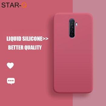 Перейти на Алиэкспресс и купить Жидкий силиконовый чехол для телефона для oppo Рино 2 z 2z 10x зум ace a5 a9 2020 a11x realme x2 5 Redmi 3 pro xt x lite f5 f9 a5s a3s крышка