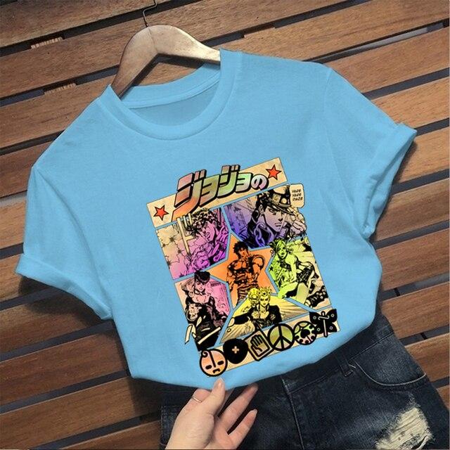 Harajuku Anime Summer T-Shirt
