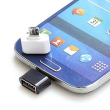 2 шт микро USB мужчина к USB 2,0 адаптер OTG конвертер для планшет телефон Android