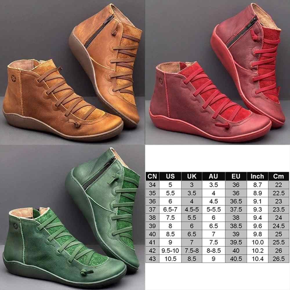 2019 New Arch Support Boots Women