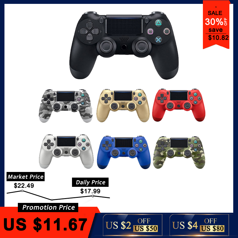 Wireless Joystick Playstation-Dualshock Ps4 Controller Ps3-Console Mando 4-Gamepad Bluetooth