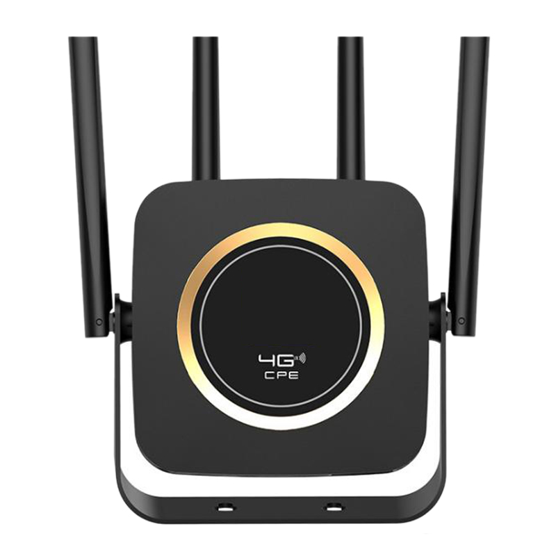 4G LTE Router 300Mbps High Speed Wireless CPE Built In 3000MAh Battery Mobile Wifi Hotspot with SIM Card Slot Lan Port Us Plug|Wireless Routers| |  -
