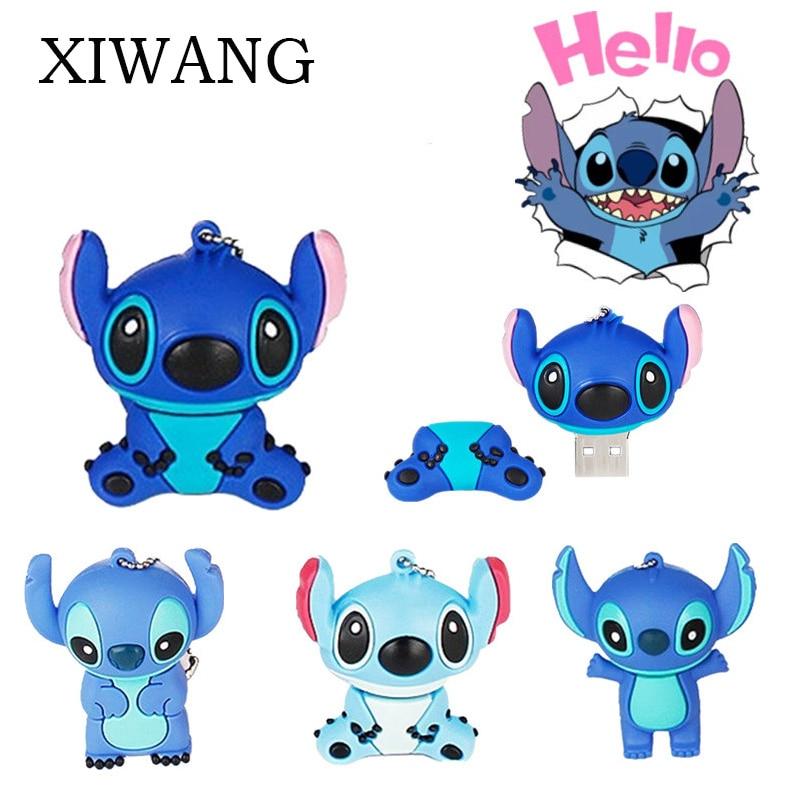 XIWANG Latest Cartoon Animal Series Flash Drive High Speed Usb 2.0 4GB 8GB 16GB 32GB 64GB Notebook Program Pendrive U Disk