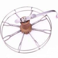 Outdoor fishing accessories fishing reel, spinning wheel, hand wheel, raft fishing reel, fishing reel, valve wheel5PCS