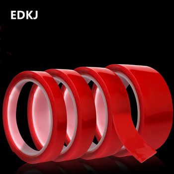 1pcs 3m 5mm 6mm 8mm 10mm 12mm 15mm Double Sided Adhesive Super Strong Transparent Acrylic Foam Adhesive Tape No Traces Sticker double sided screen adhesive tape vehicle mobile phone ipad tape 1mm 2mm 3mm 5mm 8mm 10mm 15mm 20mm 15mm 30mm x 50m black