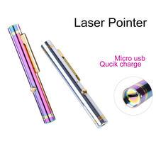Aenfor, wskaźnik laserowy dział sprzedaży pióro laserowe wskaźnik podczerwieni USB ładowanie zielony wskaźnik laserowy, trener wyjaśnić Laser