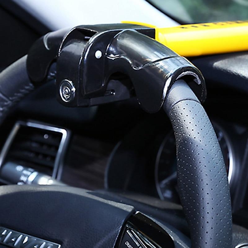 Car Steering Wheel Lock Round Lock Core-T-shaped Car Anti-theft Universal Lock Auto Supplies 2021 New 1pc 44*25*5cm
