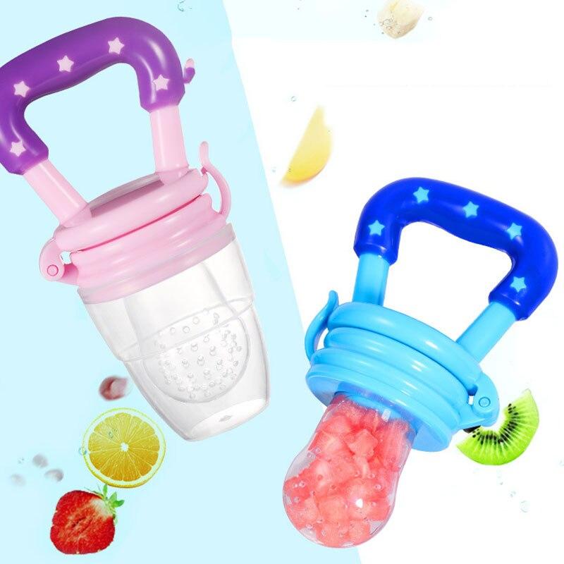 Fresh Food Fruit Nibbler Baby Pacifiers Feeder Kids Fruit Feeder Nipples Feeding SafeNipple Teat Pacifier Bottles Baby Supplies