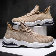 Yahaha Men Sneakers Lightweight Flykint Casual Shoes Slip On Walking Socks Trainers Mesh Flat Homme Tenis Masculino