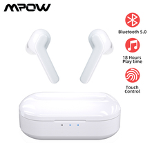 Mpow M21 TWS Earphone Bluetooth 5.0 Wireless Headphones 18 Hours Playing Tiem With Charging Case
