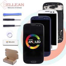 Catteny i9301 i9305 Lcd Display Für Samsung Galaxy S3 Lcd i9300 Display Mit Touchscreen Digitizer Montage + Rahmen + homebutton