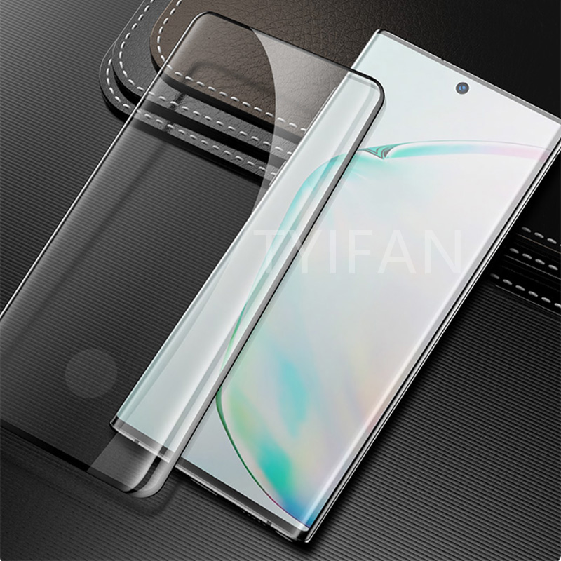 tempered glass for samsung note 10 plus pro protective glas screen protector on galaxy not note10