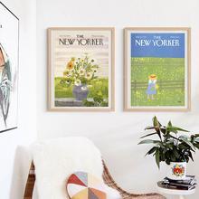 New Yorker magazyn damska w stylu Vintage drukuje plakat Retro antyczne i w najlepszych cenach Vintage Art galeria ściany magazyn damska i w najlepszych cenach latach 1950 #8217 s magazyn damska tanie tanio Jack York CN (pochodzenie) Wydruki na płótnie Pojedyncze PŁÓTNO Olej Krajobraz Bezramowe lustra Europejska QW2398 Malowanie natryskowe