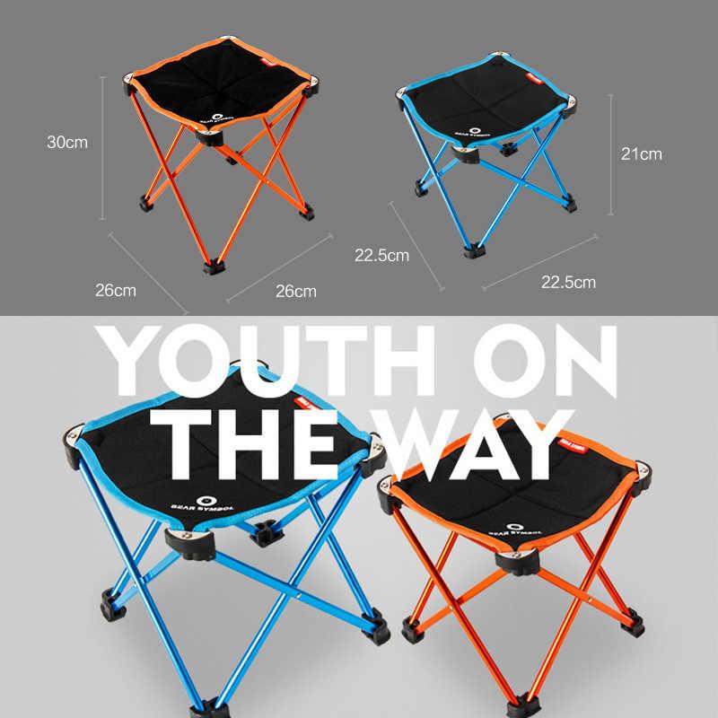 Portátil plegable DIY Mesa silla escritorio Camping barbacoa senderismo viaje Picnic al aire libre 7075 aleación de aluminio ultraligero M L